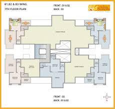 7th house floor plan