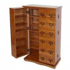 Dvd Rack Wood Plans by Cd Storage Cabinet Wood Foter