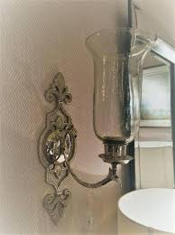 Silver Wall Sconce Candle Holder Wall Sconce Candle Silver Ornate Wall Sconce Candle Holder Wall