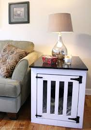 dog kennel side table kennel coffee table diy dog kennel coffee table arhidom info