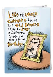 uncle carmine birthday greeting card