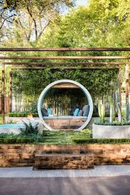 best 25 landscape design ideas on pinterest garden design this award winning garden design uses concrete pipes to create seating a water feature and a fire pit alison douglas has designed pipe d
