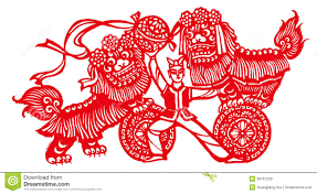lion dancer book lion royalty free stock images image 38767229