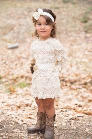 lace baby dress flower dress rustic lace dress long
