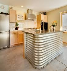 metal kitchen islands corrugated metal in the home