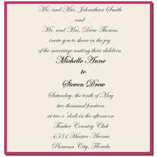 sle wedding invitations sle wording wedding invitations popular wedding invitation 2017