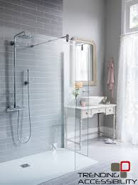 accessible shower remodeling showers tile shower kansas city