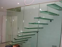 sturdy and contemporary stainless steel handrail staircase design