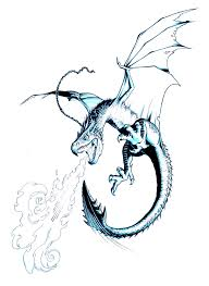 reign of fire dragon tattoo wallskid