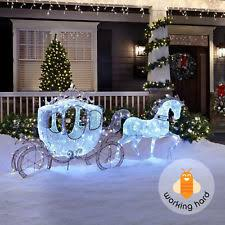 Christmas Lighted Sleigh Outdoor Decoration Philips Led by