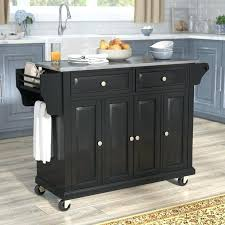 kitchen island cart stainless steel top island kitchen carts kitchen island with stainless steel top