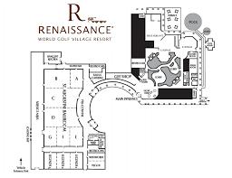 wedding floor plans world golf renaissance st augustine resort