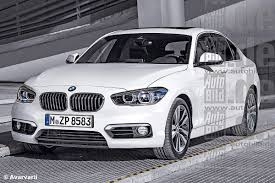 bmw series 1 saloon 2016 bmw 1 series renderings look great