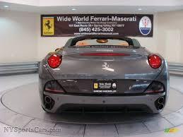 Ferrari California Grey - 2011 ferrari california in grigio silverstone dark grey metallic