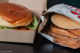 mcdonald u0027s chicken versus fil a sandwiches business insider