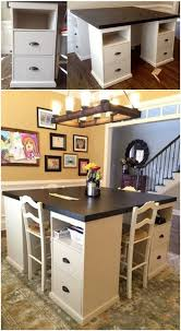 Diy Craft Desk With Storage Diy Awesome Four Station Desk On A Budget Follow Diy