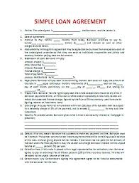 download loan contract template with crucial details to note
