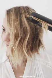hair style ideas with slight wave in short flat iron wave trick flat iron waves flat iron and iron