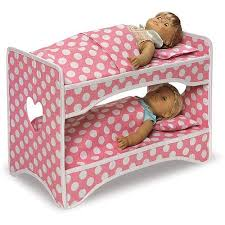 Badger Bunk Bed Badger Basket Doll Travel With Bunk Bed And Bedding
