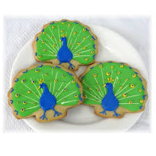 peacock wedding favors peacock cookie peacock wedding favors