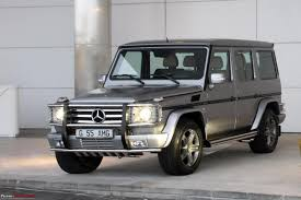 mercedes g55 price g 55 amg launched at rs 1 1 crore team bhp
