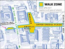 Uc Berkeley Campus Map The Walk Zone Police Department Ucpd