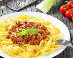 cuisine steak haché recette de spaghettis bolognaise rapides au steak haché allégé