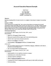 good resume for accounts executive responsibilities for marketing account manager cv template sle job description resume in 21