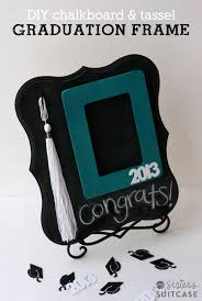 gift ideas for graduation diy graduation gift chalkboard tassel frame my s