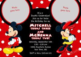 mickey mouse printable birthday invitations dolanpedia