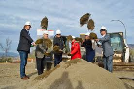 breaking ground on creston house at the reach in kamloops