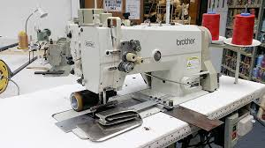 Drapery Puller Apparel Machines Brother Tn 842a 043 Double Needle Sewing