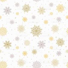 silver christmas wrapping paper christmas seamless pattern with golden and silver snowflakes
