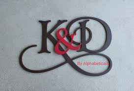 letter s wall decor his and hers wooden monogram initials couples wooden letters
