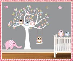 tree wall decals for nursery home decorations ideas image of modern tree wall decals for nursery design