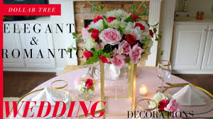 dollar tree elegant u0026 romantic wedding decorations diy crystals