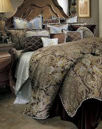Amazon King Comforter Sets Amazon Com Michael Amini Portofino 13 Piece Comforter King
