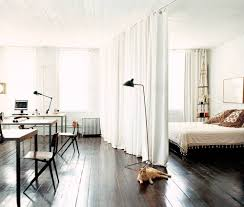 room divider rod 12 ways to create a u0027bedroom u0027 in a studio apartment apartment