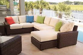 Patio Furniture Sectional Seating - furniture fill your patio with mesmerizing tropitone furniture