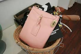 Light Pink Leather Purse White Cowhide Leather Bag High On Leather