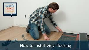 Installing Laminate Flooring Youtube How To Install Vinyl Flooring Youtube