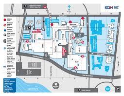 General Hospital Floor Plan Links