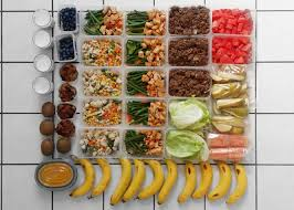 food prep meals meal prepping eat run lift