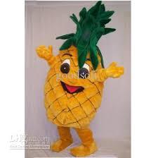 fast custom new pepe pineapple mascot costume cartoon fancy dress