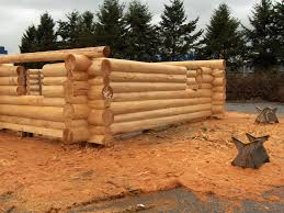 Small Log Home Kits Sale - red cedar log homes from coast mountain log homes