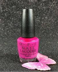 opi nail lacquer the berry thought of you nla75 brights collection