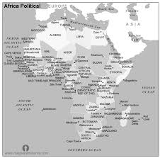 africa map black and white free africa political map black and white black and white