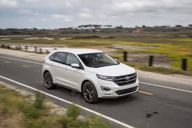 2016 ford edge sport awd first test now with adaptive steering