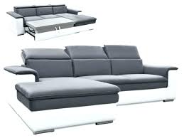 canap convertible cuir 2 places canape convertible cuir 2 places canapac connor na13 noir