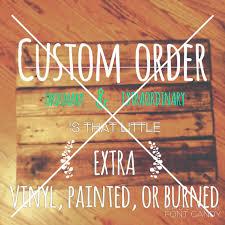 Custom Signs For Home Decor Home Design Ideas - Custom signs for home decor